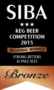 Yeovil Ales Award for 2nd Kegged Beer