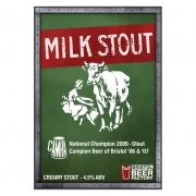 Milk Stout 4.5% by Bristol Beer Factory