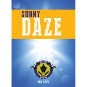 Sunny Daze 3.6% by Big Lamp Brewery