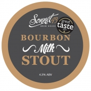 Bourbon Milk Stout 4.3% by Sonnet 43