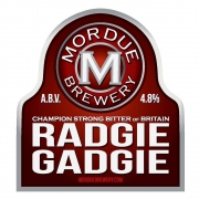 Radgie Gadgie 4.8% by Mordue Brewery