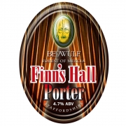 Finn's Hall Porter 4.7% by Beowulf