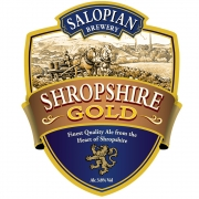 Shropshire Gold 3.8% by Salopian Brewery