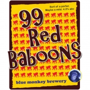 99 Red Baboons 4.2% by Blue Monkey