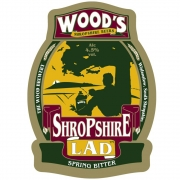 Shropshire Lad 4.5% by Wood's Brewery