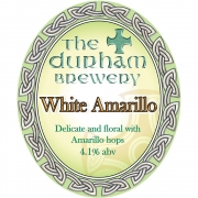 White Amarillo 4.1% by Durham Brewery