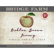 Ashton Brown Jersey 6.5% by Bridge Farm Cider