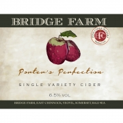 Porters Perfection 7.0% by Bridge Farm Cider