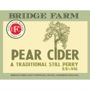 Perry 5.5% by Bridge Farm Cider