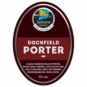 Dockfield Porter 5.0% by Saltaire Brewery