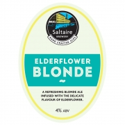 Elderflower Blonde 4.0% by Saltaire Brewery