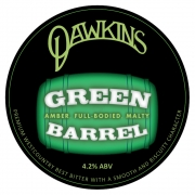 Green Barrel 4.2% by Dawkins Ales