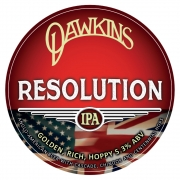 Resolution IPA 5.0% by Dawkins Ales