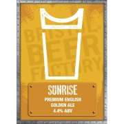 Sunrise 4.4% by Bristol Beer Factory