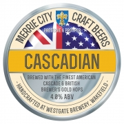 Merrie City Cascadian 4.0% by H.B. Clark