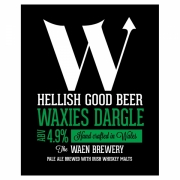 Waxies Dargle 4.9% by Waen Brewery