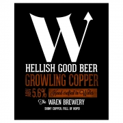 Growling Copper 5.6% by Waen Brewery