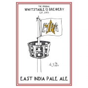 East India Pale Ale 4.1% by Whitstable Brewery