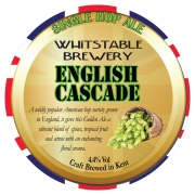 English Cascade 4.4% by Whitstable Brewery