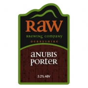Anubis Porter 5.2% by Raw Brewery