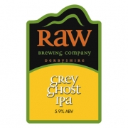Grey Ghost IPA 5.9% by Raw Brewery