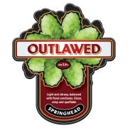 Outlawed 3.8% by Springhead Brewery