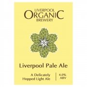 Liverpool Pale Ale 4% by Liverpool Organic Brewery
