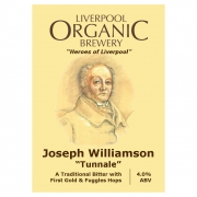 Joseph Williamson 4.0% by Liverpool Organic Brewery
