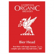 Bier Head 4.1% by Liverpool Organic Brewery