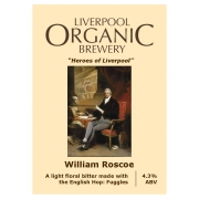 William Roscoe 4.3% by Liverpool Organic Brewery
