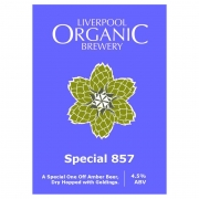 Special 857 4.5% by Liverpool Organic Brewery