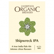 Shipwreck IPA 6.5% by Liverpool Organic Brewery