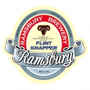 Flint Knapper 4.2% by Ramsbury Brewery