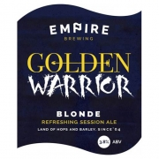 Golden Warrior 3.8% by Empire Brewing