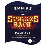 Strikes Back 4.0% by Empire Brewing