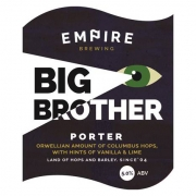 Big Brother Porter 5% by Empire Brewing