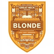 Blonde 4.3% by Great Heck Brewing