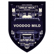 Voodoo Mild 4.3% by Great Heck Brewing