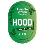 Hood 4.2% by Lincoln Green Brewery