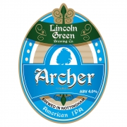 Archer 4.0% by Lincoln Green Brewery