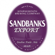Sandbanks Export 5.7% by Bournemouth Brewing Co