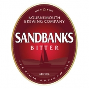 Sandbanks Bitter 3.9% by Bournemouth Brewing Co