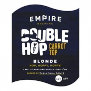 Double Hop, Carrot Top 4.3% by Empire Brewing
