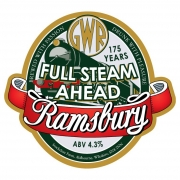 Full Steam Ahead 4.3% by Ramsbury Brewery