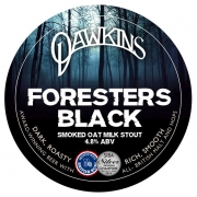Foresters Black 4.8% by Dawkins Ales