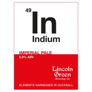Indium 5.9% by Lincoln Green Brewery