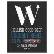 Cockney Rebel 5.4% by Waen Brewery