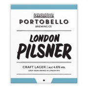 London Pilsner 4.6% by Portobello