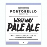 Westway Pale Ale 4.0% by Portobello