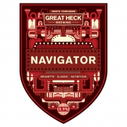 Navigator 3.9% by Great Heck Brewing
